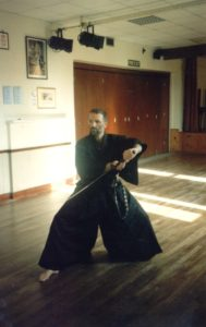 An iaido demonstration