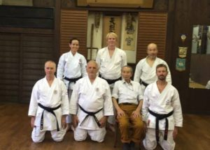 At the Hombu Dojo Kyoto 2016